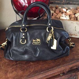 Coach Madison Sabrina leather convertible bag